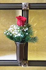 Cedar-Single-Red-Rose